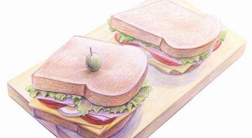 美食 食潮播报 > 正文   原标题:创意彩铅手绘美食:插画也能热气腾腾
