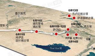 ISIL6月进攻地图