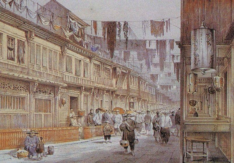 清朝时期洋商拒绝三跪九叩 称自己不是奴隶