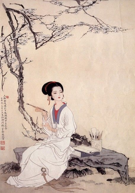 古代中国美女的三围标准:胸围不高臀围高
