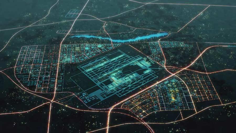 空港新城将建设成航空枢纽和内陆空港城市示范区