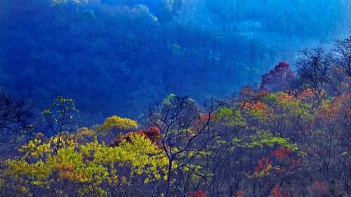 【湖光山景】艾山风景区 徐州小九寨