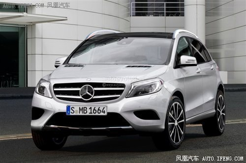 奔驰新SUV上海首发 2020年将推12款新车型