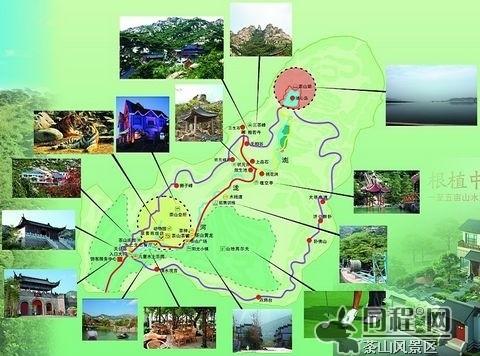 """品牌城市 > 正文   茶山风景区占地面积约10平方公里,以""""山石,山泉,山"""