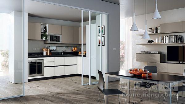 意大利设计师告诉你 小户型厨房不再束手束脚