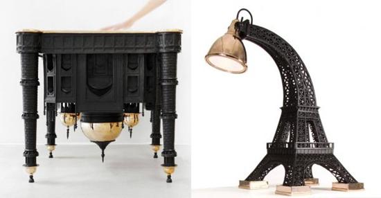 迈阿密家具展:以著名建筑为灵感的家具设计