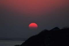 青岛西海岸绝美日落
