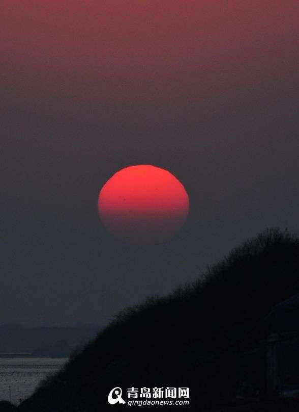 高清:晒西海岸绝美日落 自然界奇景叹为观止