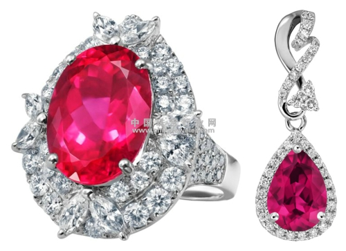enzo红碧玺高级珠宝系列高清图片