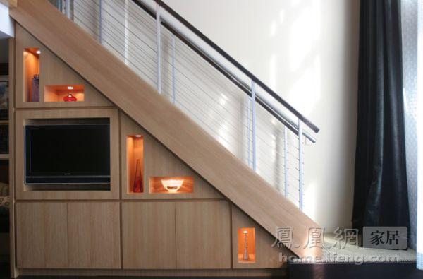 化鸡肋为神奇 40款楼梯底收纳空间设计