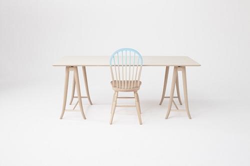 别具匠心的椅子设计 品位akimoku曲木家具的独特魅力