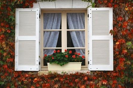 3d窗户外景贴图素材