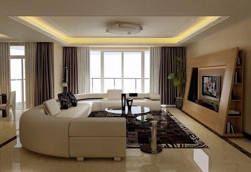 小客厅超强v客厅户型背景墙小背景装修效果图复式人造石电视墙多少钱图片