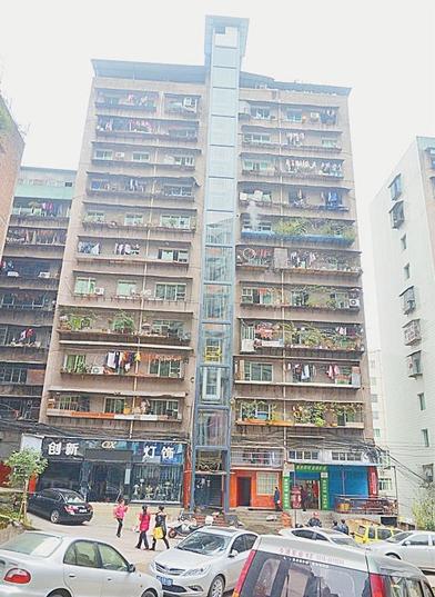 于四川省达州市达川区梧桐梁社区长寿街,一幢12层楼高(共24户)