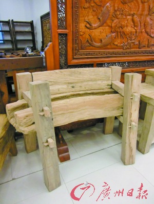 榫卯结构被广泛运用于仿明清红木家具及一些现代纯实