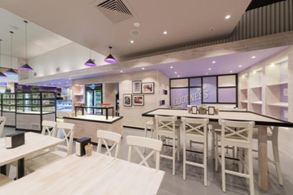 墨尔本Breadlicious面包和咖啡馆室内空间设计