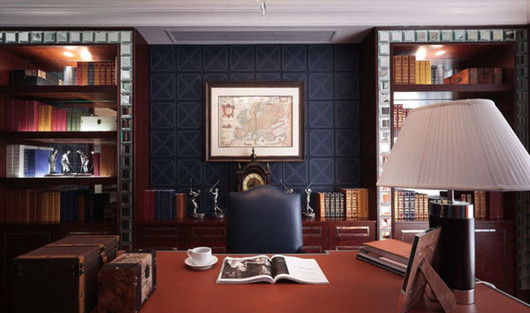 尊贵生活的代表符号  英伦风的室内装修设计