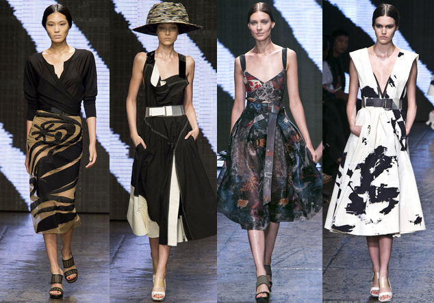 Donna Karan2015春夏系列发布