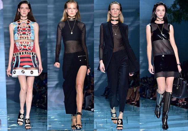 Versace2015春夏大秀