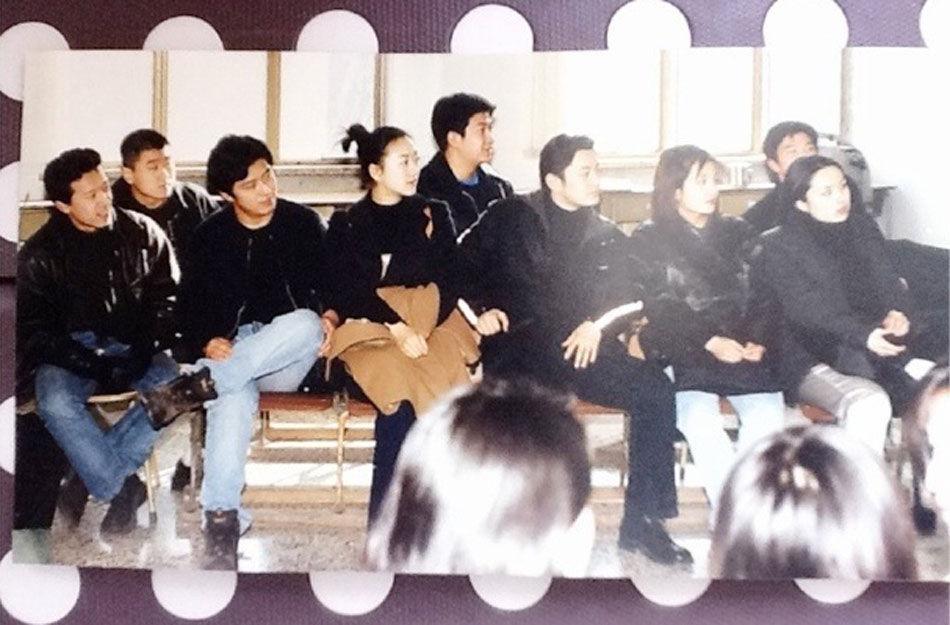 祖峰、张恒等在演艺圈均有不错表现,同学之间时常聚会,大学同