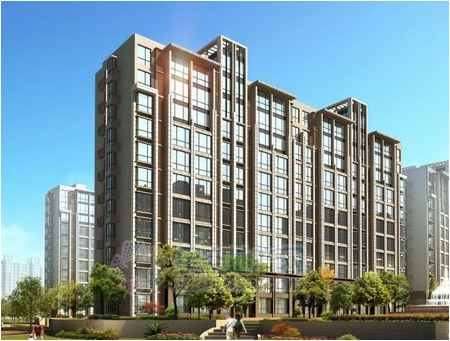 b,c户型为板塔结合楼,e,f户型为板楼,分为11层板楼,1梯2户,18层板塔