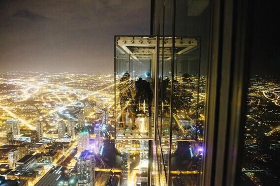 威利斯大厦ledge观景台