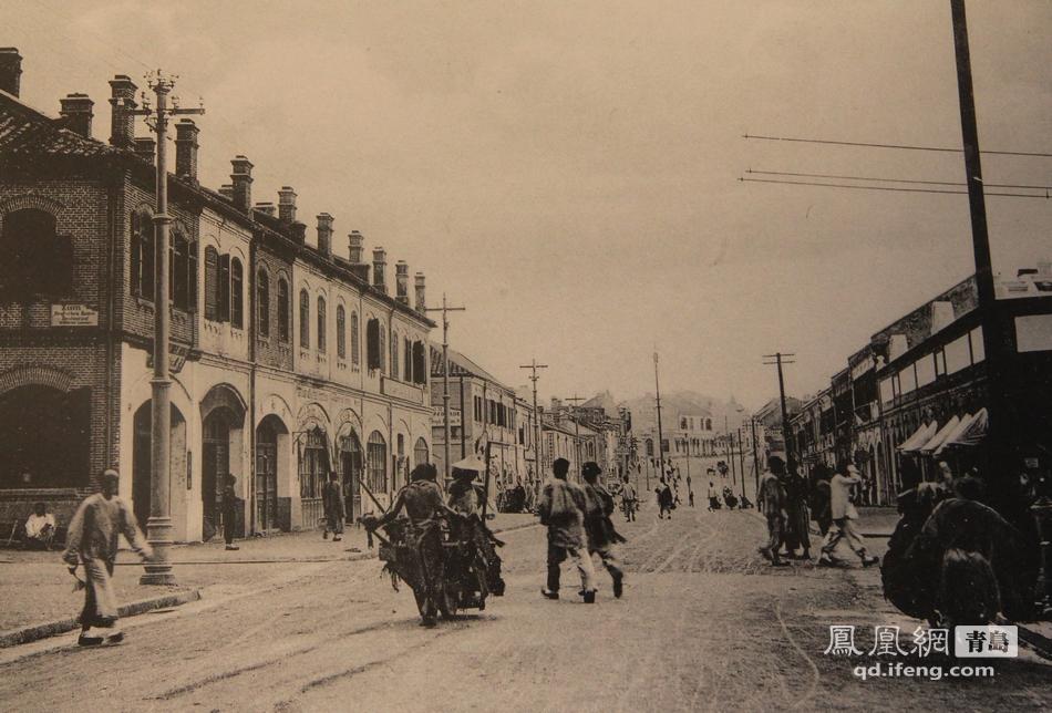 青岛百年中山路图片展 那些凝聚在老街里的记忆