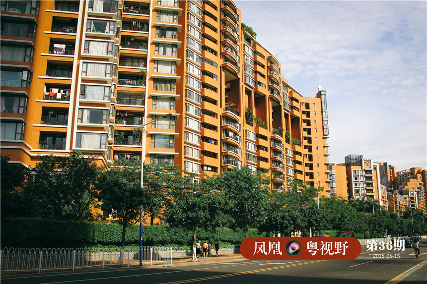在猎德花园旁边,就是珠江新城的顶级豪宅,凯旋新世界。