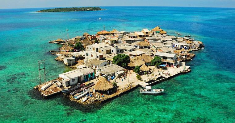 世界上最拥挤的岛