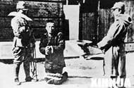 南京市民被日军捆绑刺杀