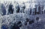 日军活埋中国人照片