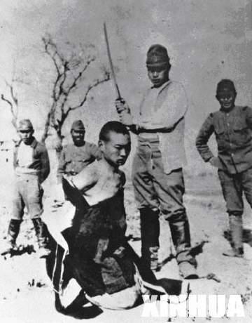 南京大屠杀见证人冒死保存的日军残杀中国平民照片