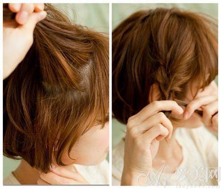 diy超短编发发型 简单帅气不失可爱|发型|短发_凤凰