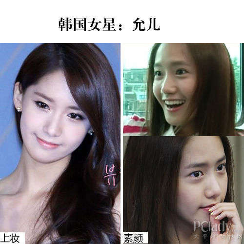 【爱美】韩国治愈女神才是真美女!上妆素颜一样美