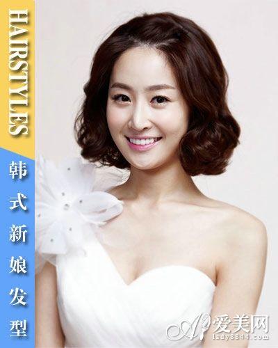 韩式新娘发型 我的婚礼发型我做主