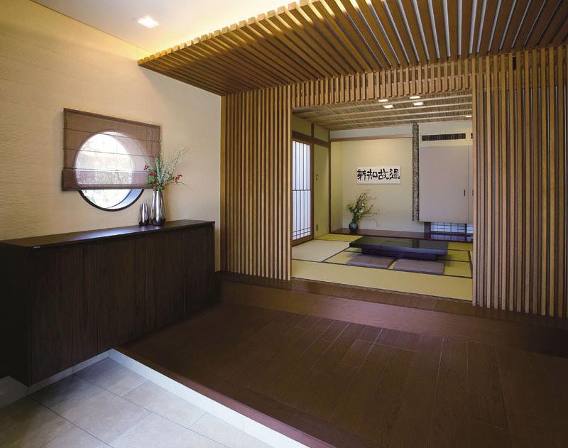 日式和风装修必备 原木地板洋溢简单自然家居感