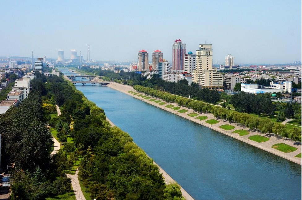 湛河林水相依 平顶山林业局提供 鹰城湛河图片 高清图片