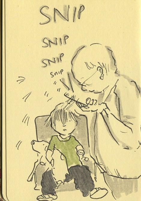 英国母亲每晚画漫画记录儿女成长 比照片更好