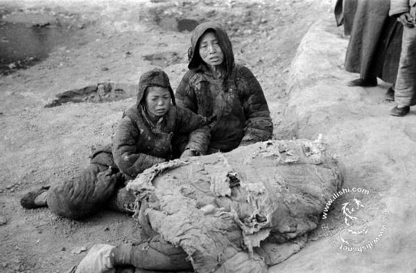 1942年河南大饥荒的真实场景 300万人饿死