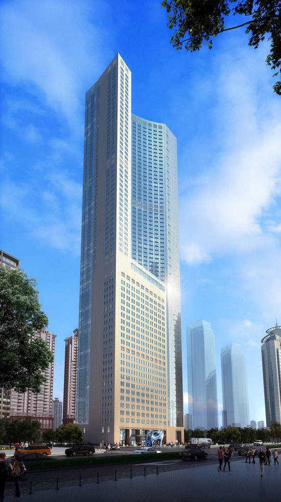卓越设计打造非凡品质 贝式建筑添彩财富中心