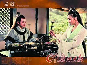 何润东在《新三国》里扮演的吕布,观众褒贬不一。
