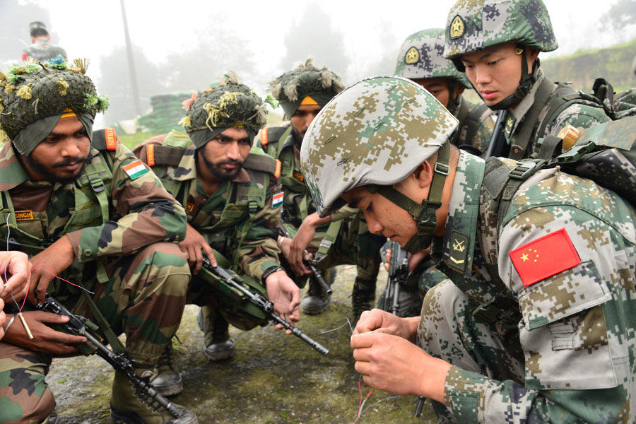 PHOTOS: India, China Special Joint Army Heliborne ...