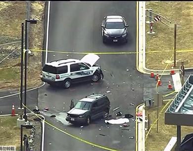 两男子驾车擅闯美国安局 一被击毙一重伤