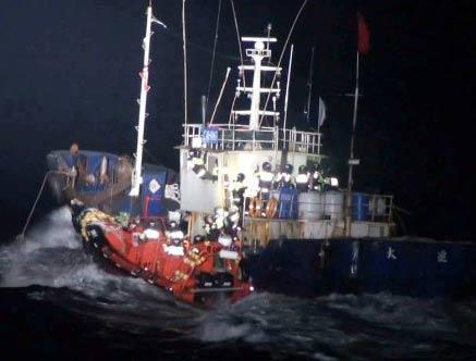 韩警方释放7名中国船员 提请批捕2人并索8万元保释金