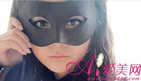 【爱美】下垂系蓝紫眼妆 华丽闪耀假面舞会
