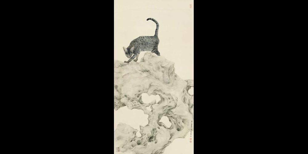 凛若晨霜-132cm×66cm