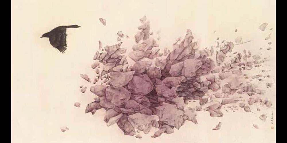 危情玫瑰-92cm×170cm