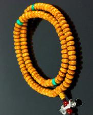 藏式6×9毫米龙珠菩提长珠