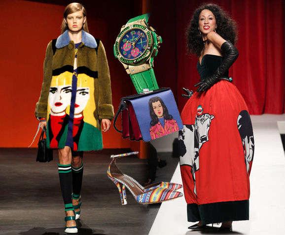 服装设计中脸谱元素