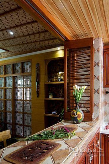 东南亚风格厨房装修效果图